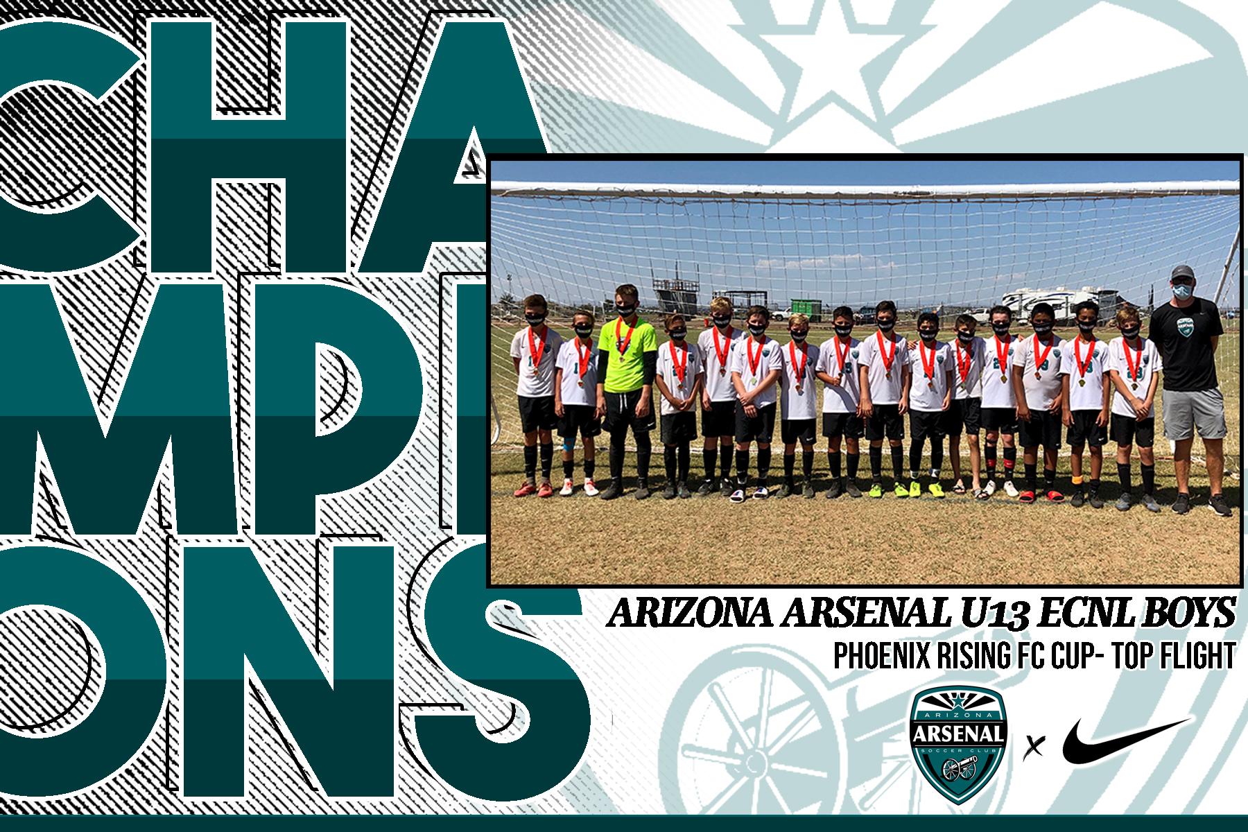 Arizona Arsenal Soccer Club Home