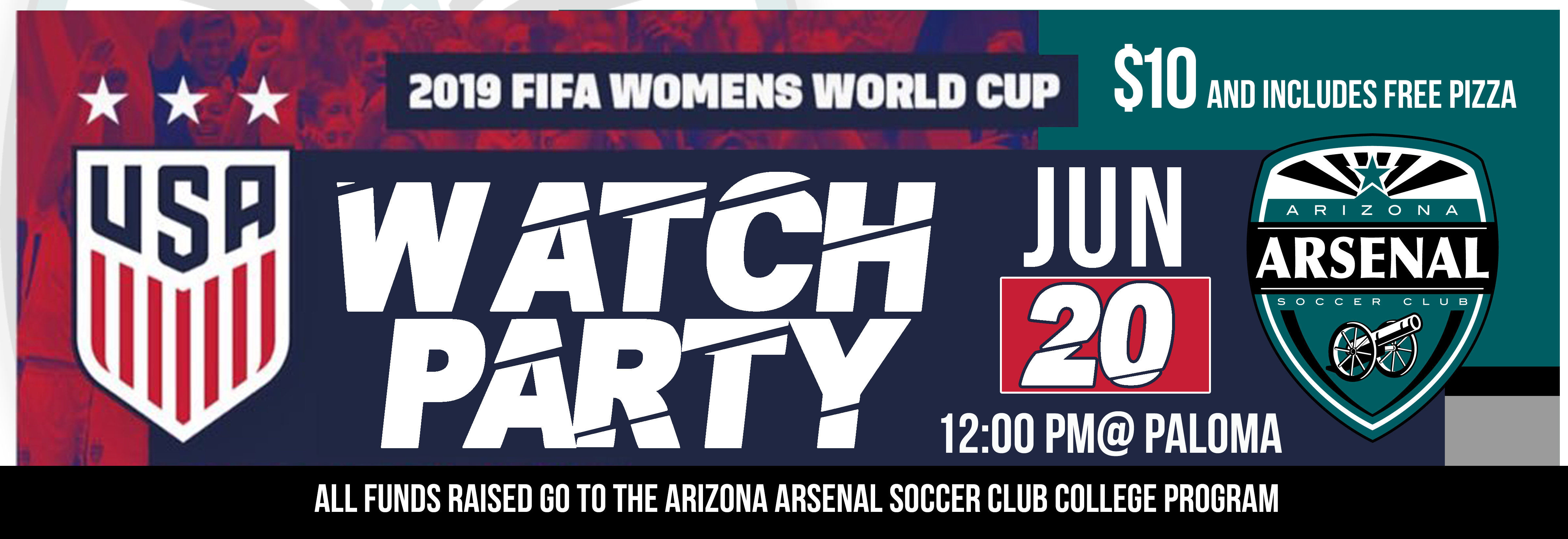 US Womens Worls Cup Watch Party